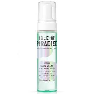 Isle of Paradise Glow Clear Self-Tanning Mousse - Medium 200ml