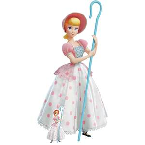 Toy Story 4 Bo Peep Classic Pink and White Polka Dot Dress Cut Out