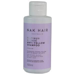 NAK Platinum Blonde Anti-Yellow Shampoo 100ml