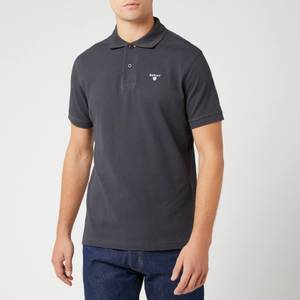 Barbour Men's Tartan Pique Polo Shirt - Navy/Dress