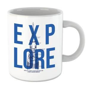 Explore Schematic Mug