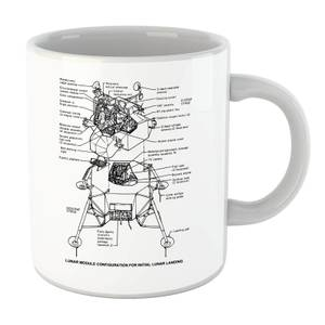 Lunar Schematic Mug