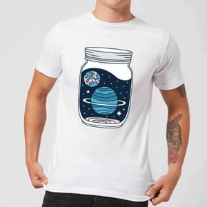 Space Jar Men's T-Shirt - White