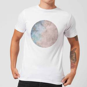 Colourful Moon Men's T-Shirt - White