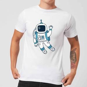 Astronaut Waving Men's T-Shirt - White