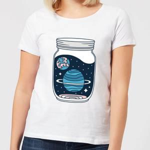 Space Jar Women's T-Shirt - White