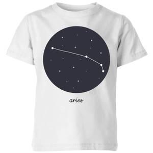 Aries Kids' T-Shirt - White