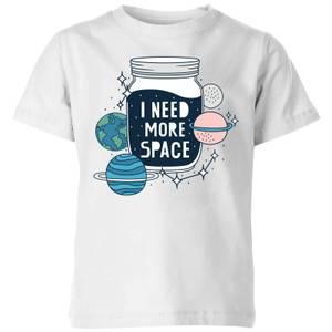 I Need More Space Kids' T-Shirt - White