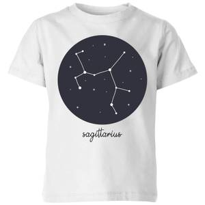 Sagittarius Kids' T-Shirt - White