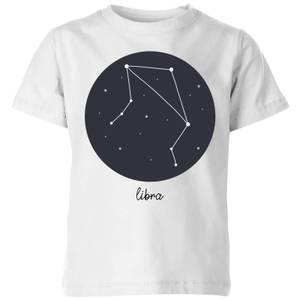 Libra Kids' T-Shirt - White