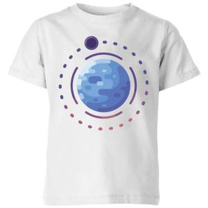Planet Earth Kids' T-Shirt - White