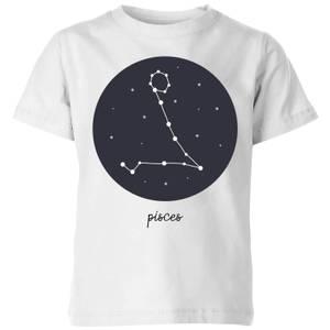 Pisces Kids' T-Shirt - White