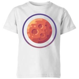 Mars Kids' T-Shirt - White