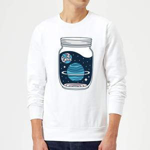 Space Jar Sweatshirt - White