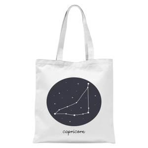 Capricorn Tote Bag - White