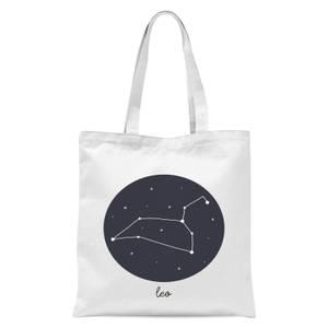 Leo Tote Bag - White