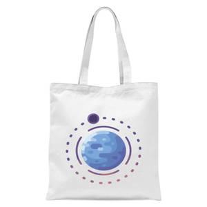 Planet Earth Tote Bag - White