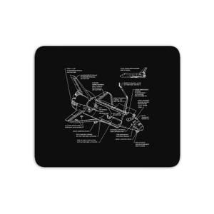 Shuttle Schematic Mouse Mat