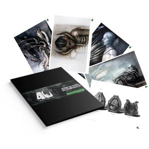 Alien Lithograph - Set of 5 Prints