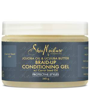 Shea Moisture Jojoba Oil & Ucuuba Butter Braid Up Conditioning Gel 340g