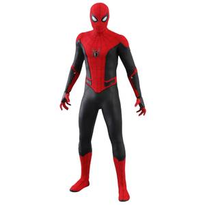 Figurine articulée MM Spider-Man (nouveau costume), Spider-Man: Far From Home, échelle 1:6 (29cm)– Hot Toys