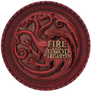 Game of Thrones House Targaryen Magnet