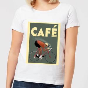 Mark Fairhurst Cafe Racer Women's T-Shirt - White