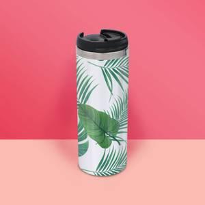 Botanical Print Stainless Steel Travel Mug