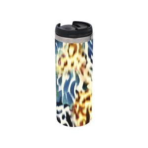 Colourful Animal Print Stainless Steel Thermo Travel Mug