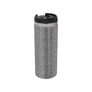 Motherboard Pattern Stainless Steel Travel Mug - Metallic Finish