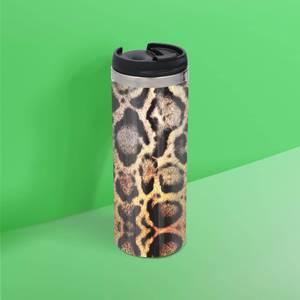 Snake Print Stainless Steel Travel Mug