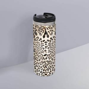 Animal Print Stainless Steel Travel Mug