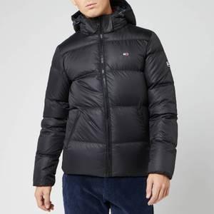 Tommy Jeans Men's Essential Down Jacket - Tommy Black