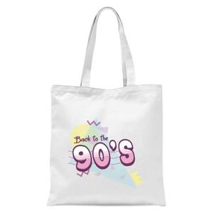 Back To The 90's Tote Bag - White