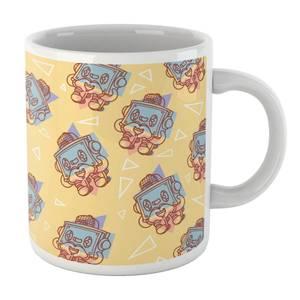 Tape Deck Love Pattern Mug Mug