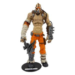 Action figure Krieg, Borderlands – McFarlane Toys – circa 18 cm