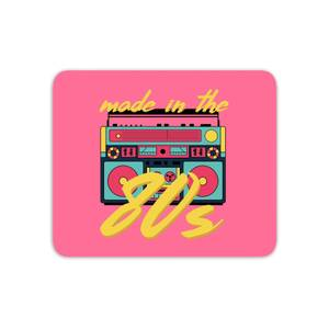 Made In The 80s Boombox Mouse Mat