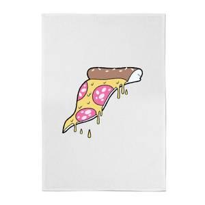 Dripping Pizza Cotton Tea Towel
