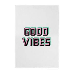 Good Vibes Cotton Tea Towel