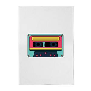 Cassette Tape Cotton Tea Towel
