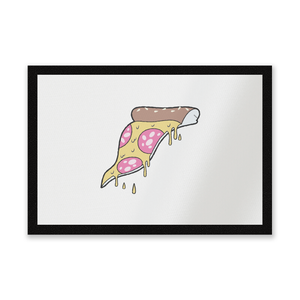 Dripping Pizza Entrance Mat