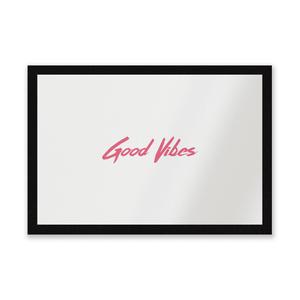 Good Vibes Entrance Mat