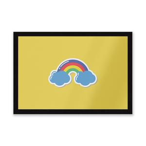Rainbow Entrance Mat
