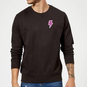 Small Lightning Bolt Sweatshirt - Black