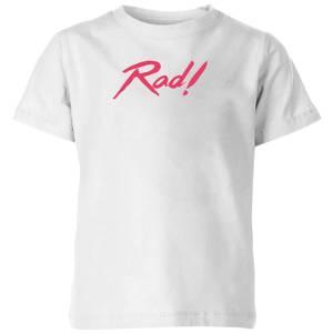 Rad! Kids' T-Shirt - White