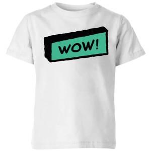 Wow! Kids' T-Shirt - White