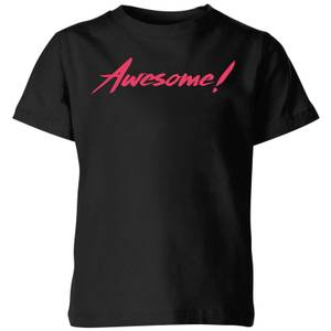 Awesome! Kids' T-Shirt - Black