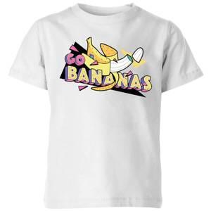 Go Bananas Kids' T-Shirt - White