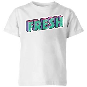 Fresh Kids' T-Shirt - White