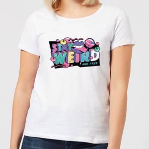 Stay Weird Women's T-Shirt - White